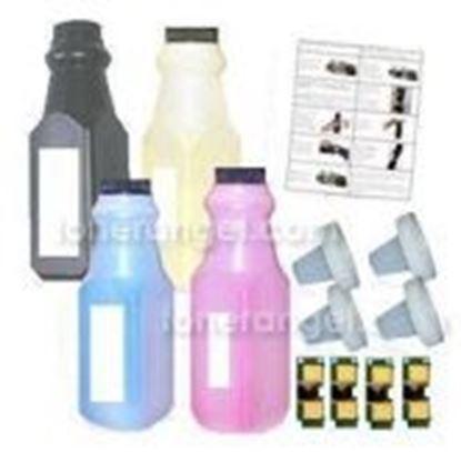 Image de HP CE740A/1A/3A/2A 307A Toner Recharge 4 couleurs