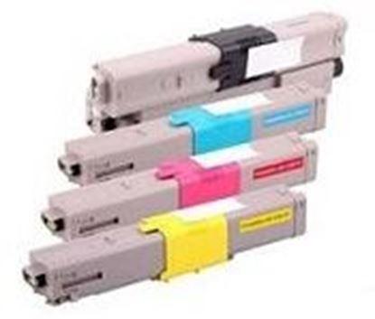 Afbeeldingen van OKI ES3452MFP Cartouche de toner compatible Rainbow 4 couleurs