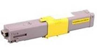 Afbeeldingen van OKI ES5431 Cartouche de toner compatible Jaune