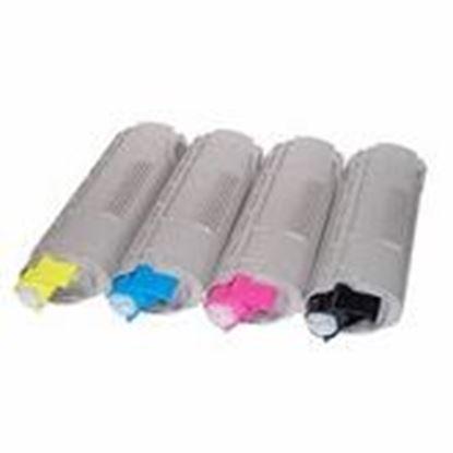 Image de OKI ES6410 Cartouche de toner compatible Rainbow 4 couleurs